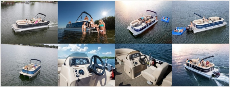 Our Pontoon Boat Rentals