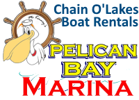 Chain O' Lakes Boat Rentals - Pontoon Boat Rentals